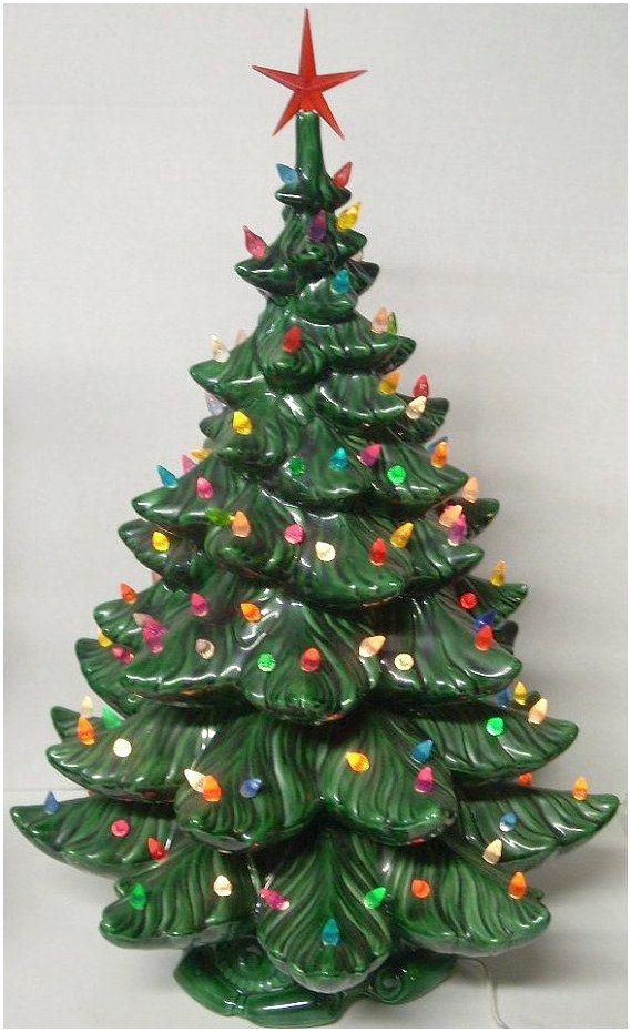 Ceramicfurnishings Pottery Ceramics Click For Info Vintage Ceramic Christmas Tree Vintage Christmas Tree Decorations Ceramic Christmas Trees