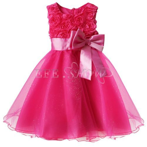 Robe ceremonie bebe fille rose