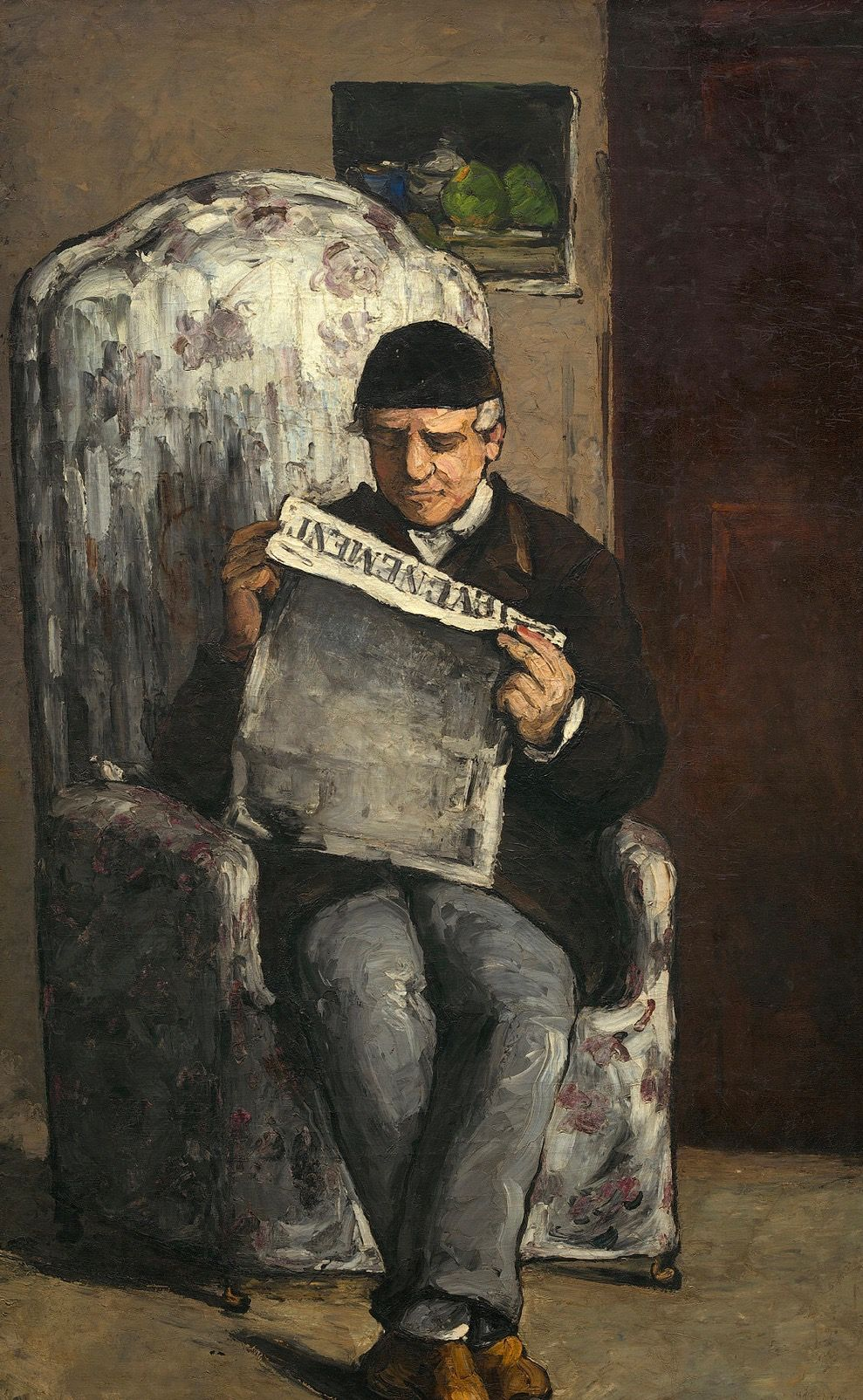 1886 - Retrato de Louis Auguste Cézanne | Retrato, The wonders
