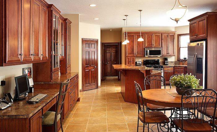 Küchen Ideen, ein großer Raum mit alles Nützliche zum Wohnen in - ideen offene kuche wohnzimmer