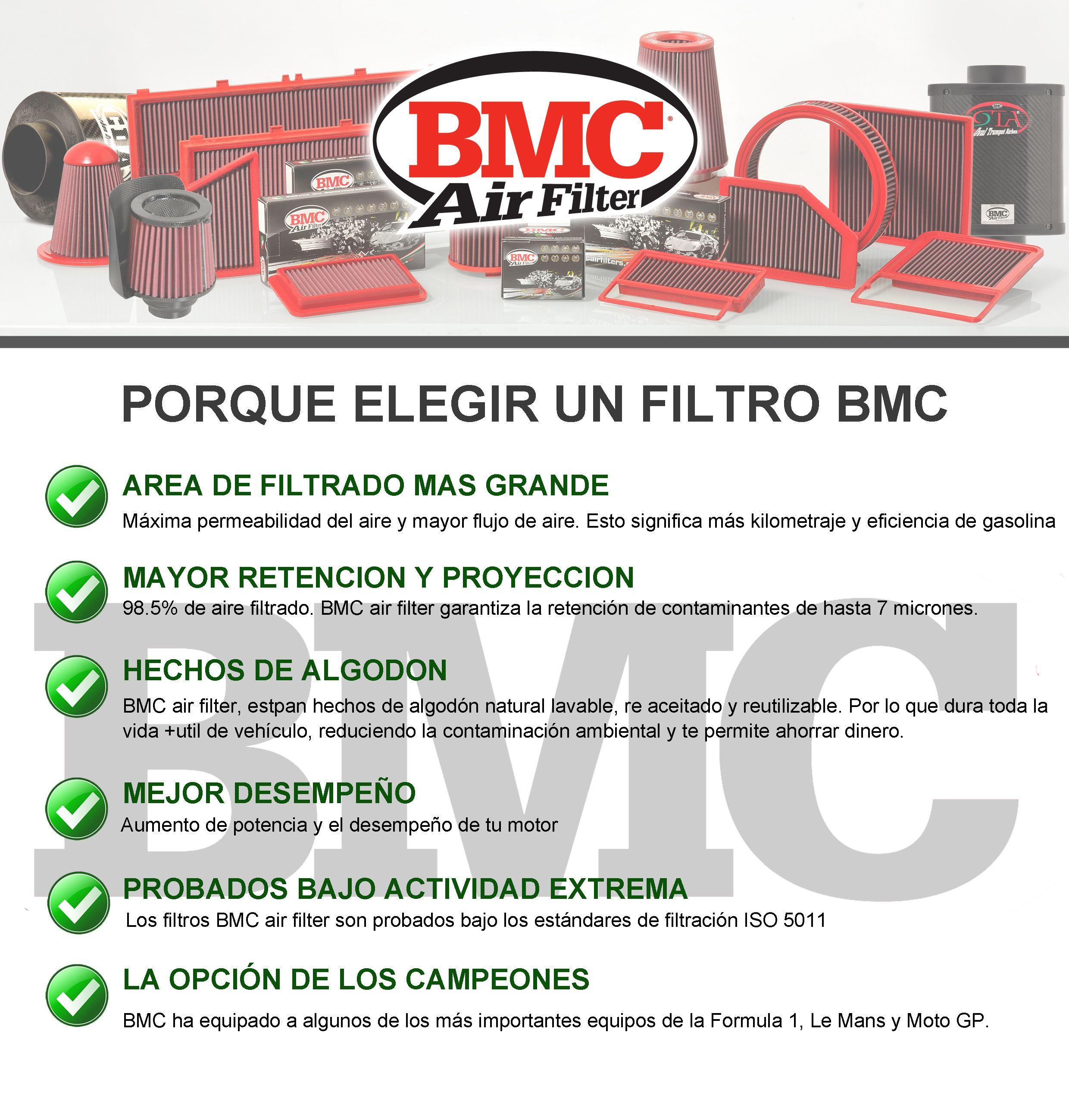 ¿Porque un filtro BMC ? Toda una gama completa de sistemas