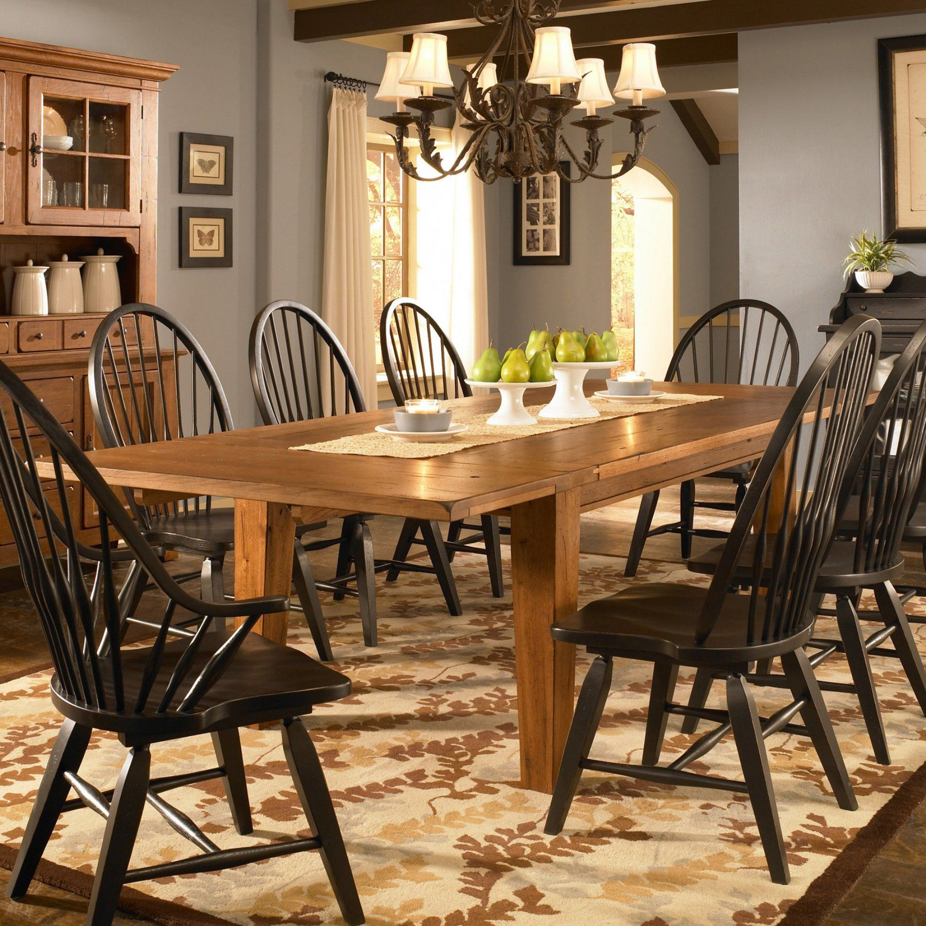 Broyhill Attic Heirlooms 72 In Rectangular Dining Table With