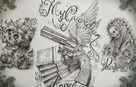 lowrider chicano tattoo art | Things to try | Chicano art tattoos ...