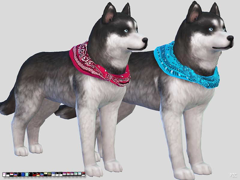 22 Styles And Colors Found In Tsr Category Sims 4 Dogs Accessories Hund Und Katze Hunde Tiere