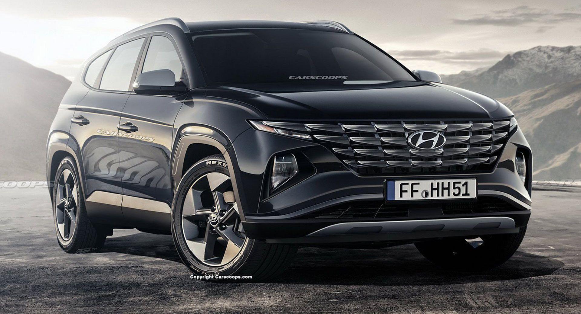 Hyundai Upcoming Suv 2021 Spesification In 2020 Hyundai Tucson Hyundai Hyundai Santa Fe