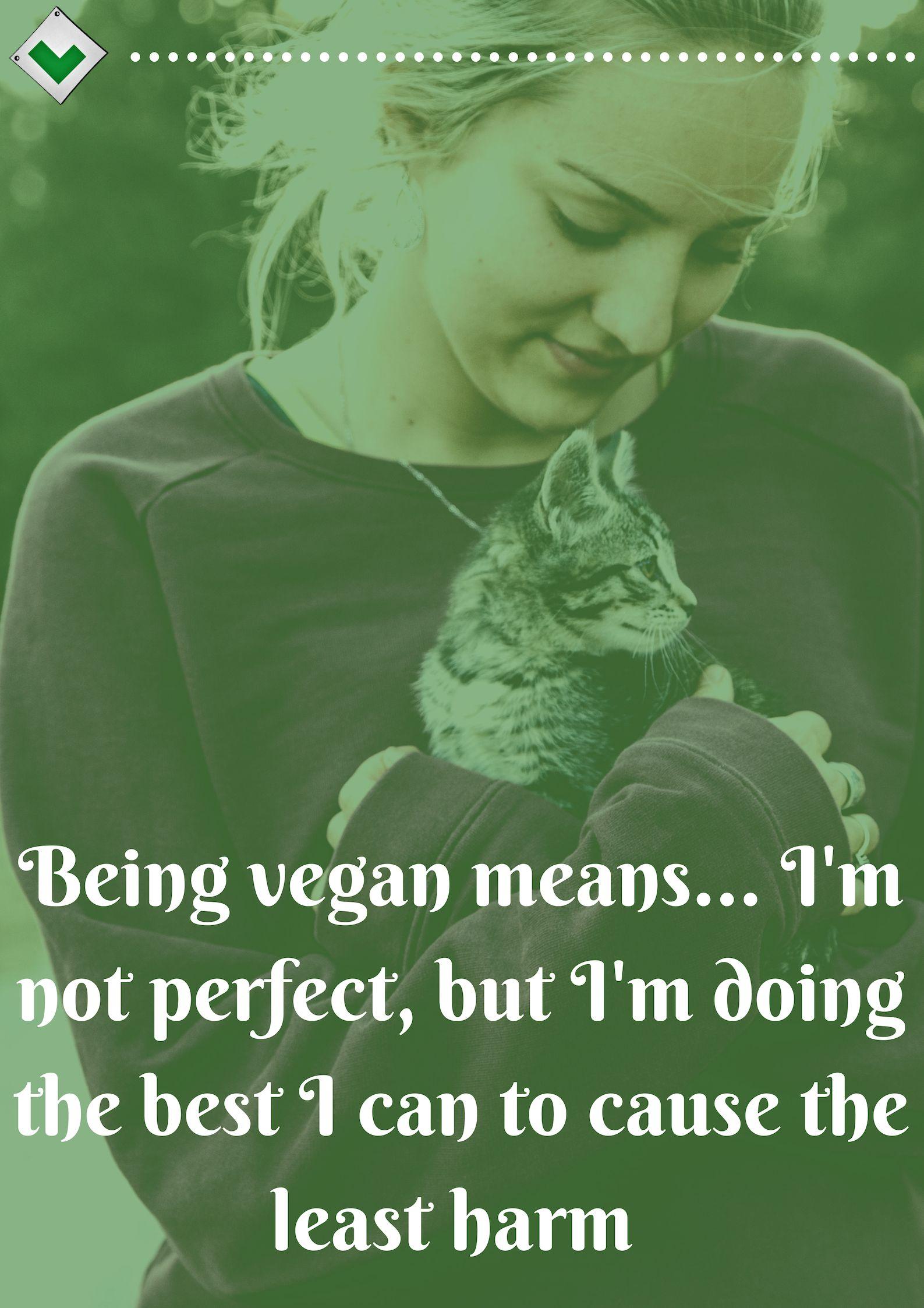 Being Vegan Means...