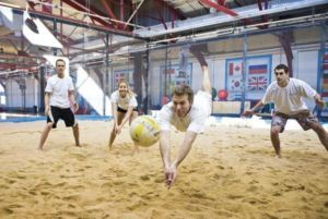 Indoor Beach Volleyball Leagues At Vaughan Sportsplex 2 City Of Toronto Groups Kijiji City Of Toronto C Sand Volleyball Court Indoor Beach Beach Activities