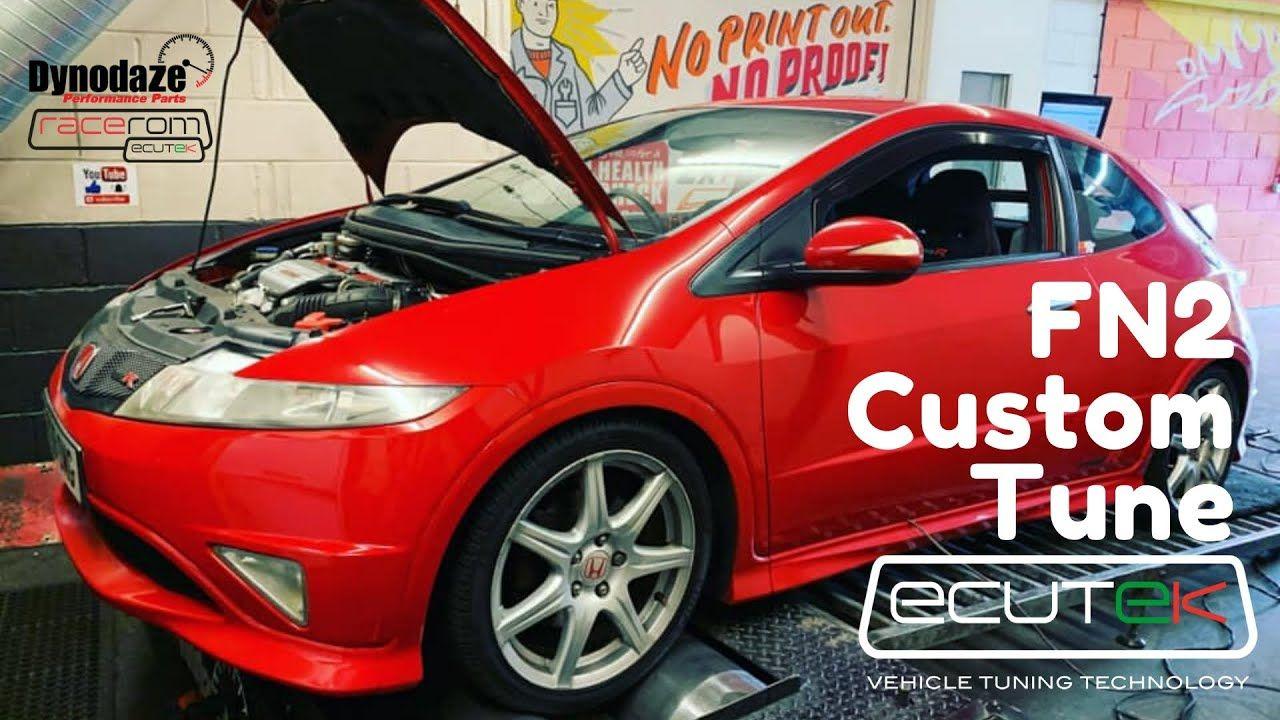 Custom Tuned Honda Civic FN2 Type R Ecutek in 2020 Honda