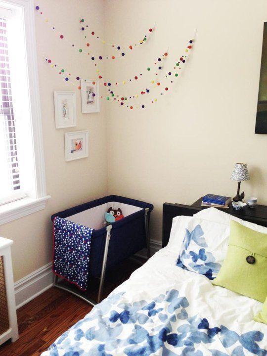 Nurseries in the Master Bedroom | Small space nursery ...