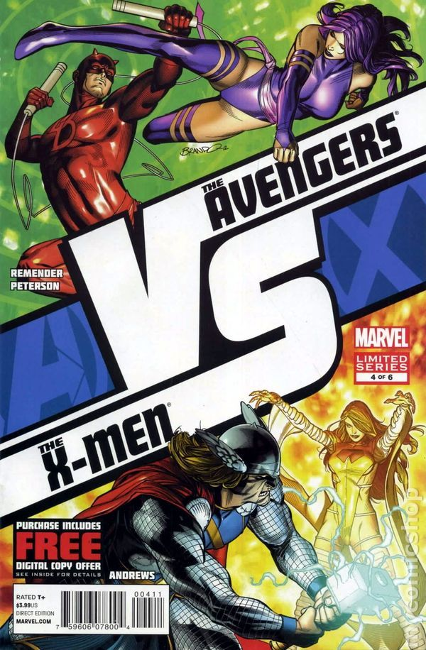 AVX vs. (2012 Marvel) 4A  Marvel Comics Modern Age Comic book covers Super Heroes  Villians