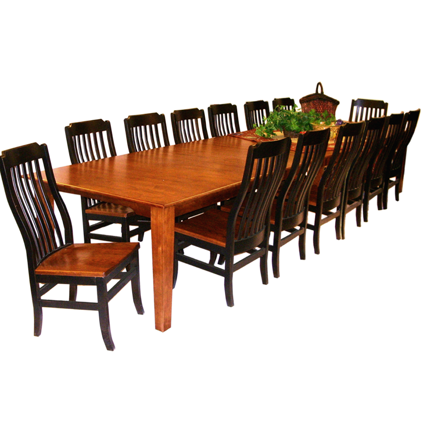 Style your Own Dining Table up to 17 Ft. - SIMPLY AMISH 25 ...