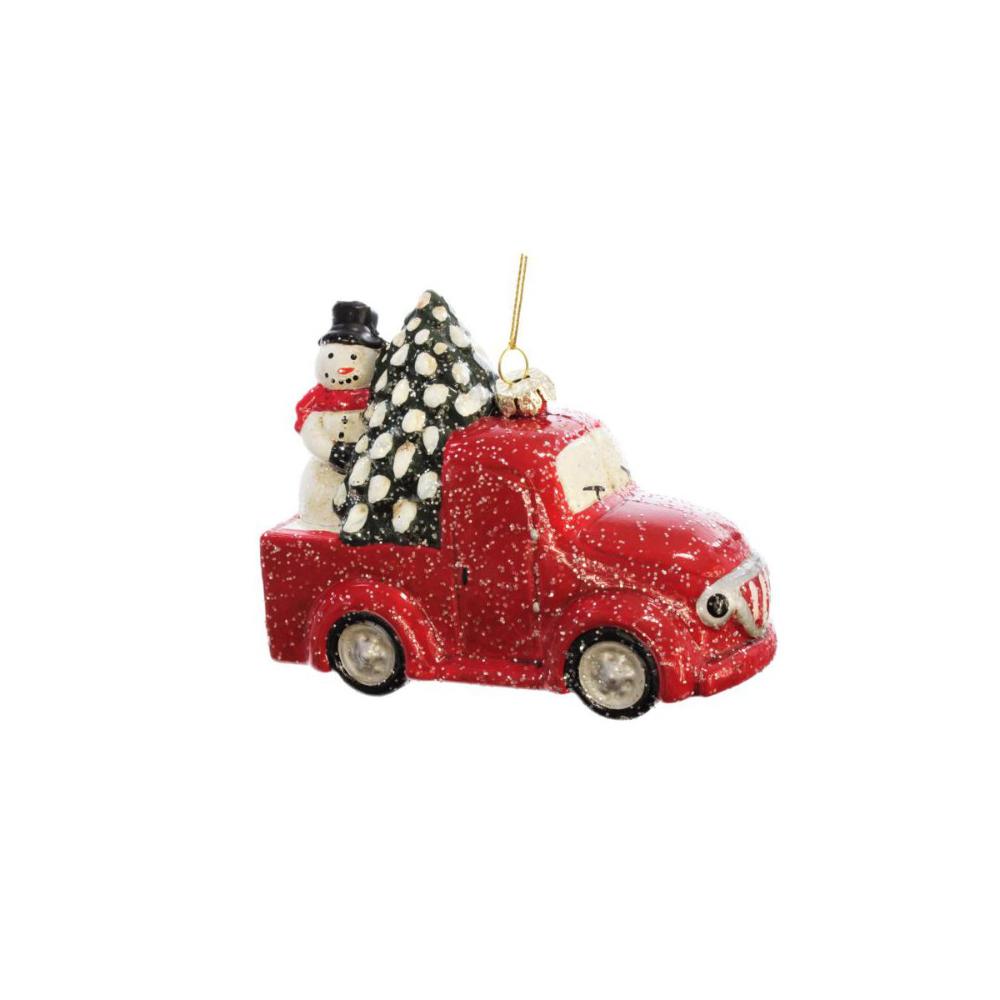Bombka Plastikowa 11 Cm 1 Szt Samochod Bombki I Ozdoby Choinkowe W Atrakcyjnej Cenie W Sklepach Leroy Holiday Decor Novelty Christmas Christmas Ornaments