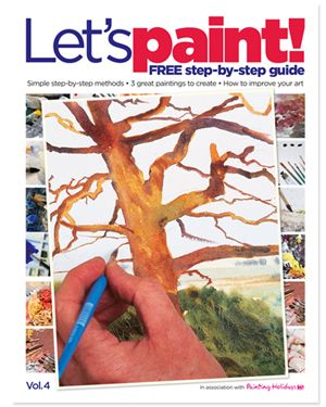 Free Let S Paint Magazine Download With Images Watercolor Art