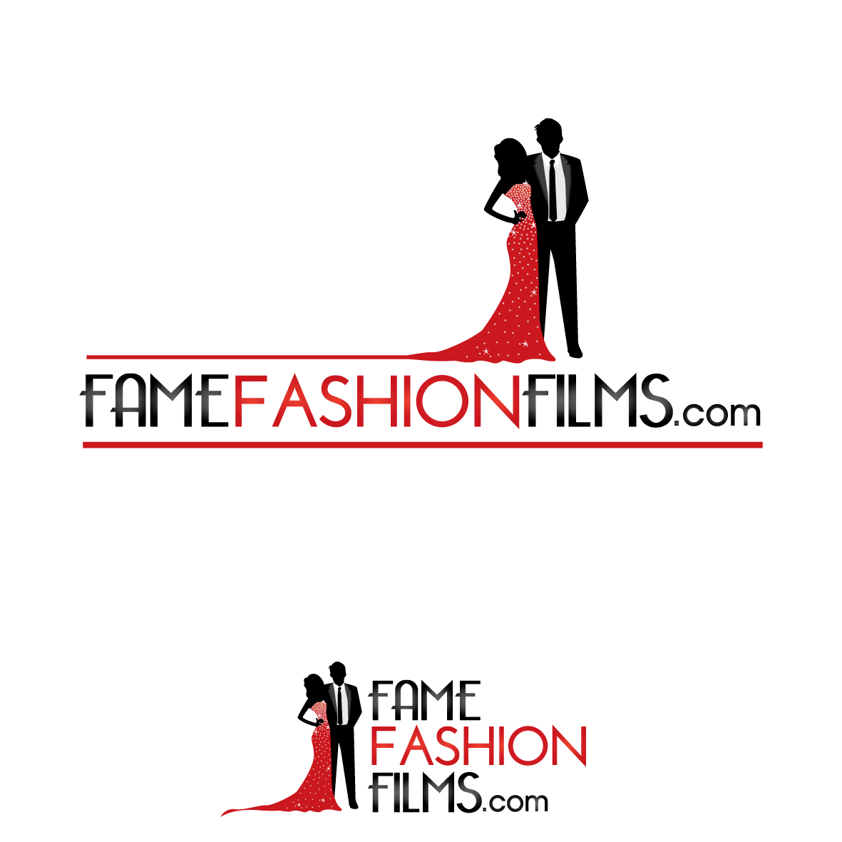 Feminine Logo Creative Design Fame Fashion Films Logo Design 43 By Gobbeltygook Logo Design Fashion Logo Logo Design Contest