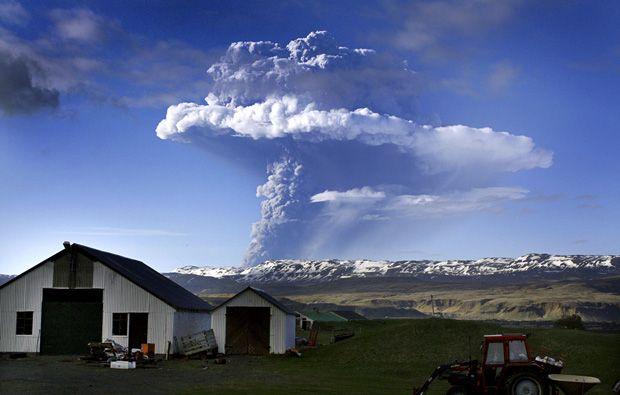 Alemania cerró aeropuertos por las cenizas del volcán Grimsvötn