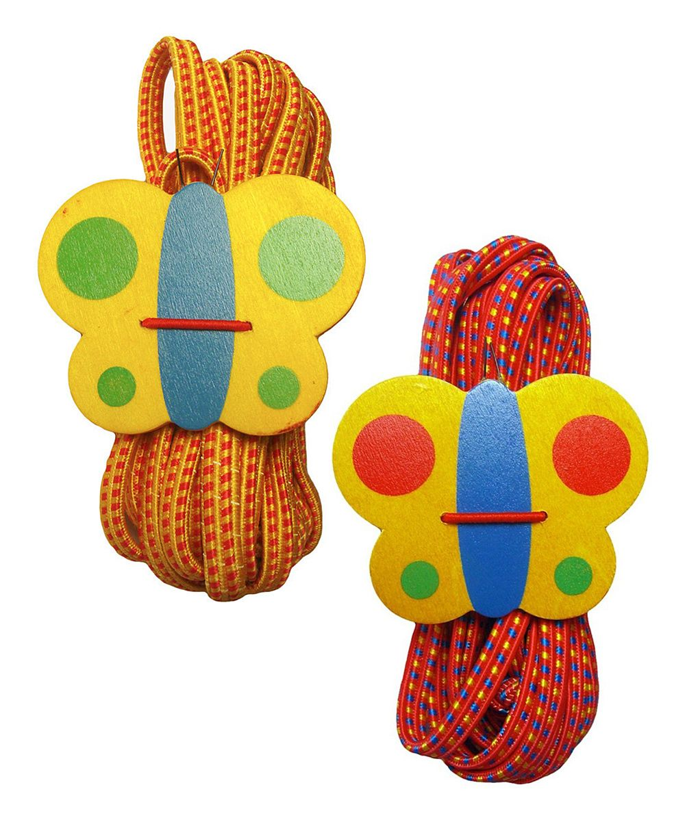 Red & Orange Gummitwist Jump Rope Set