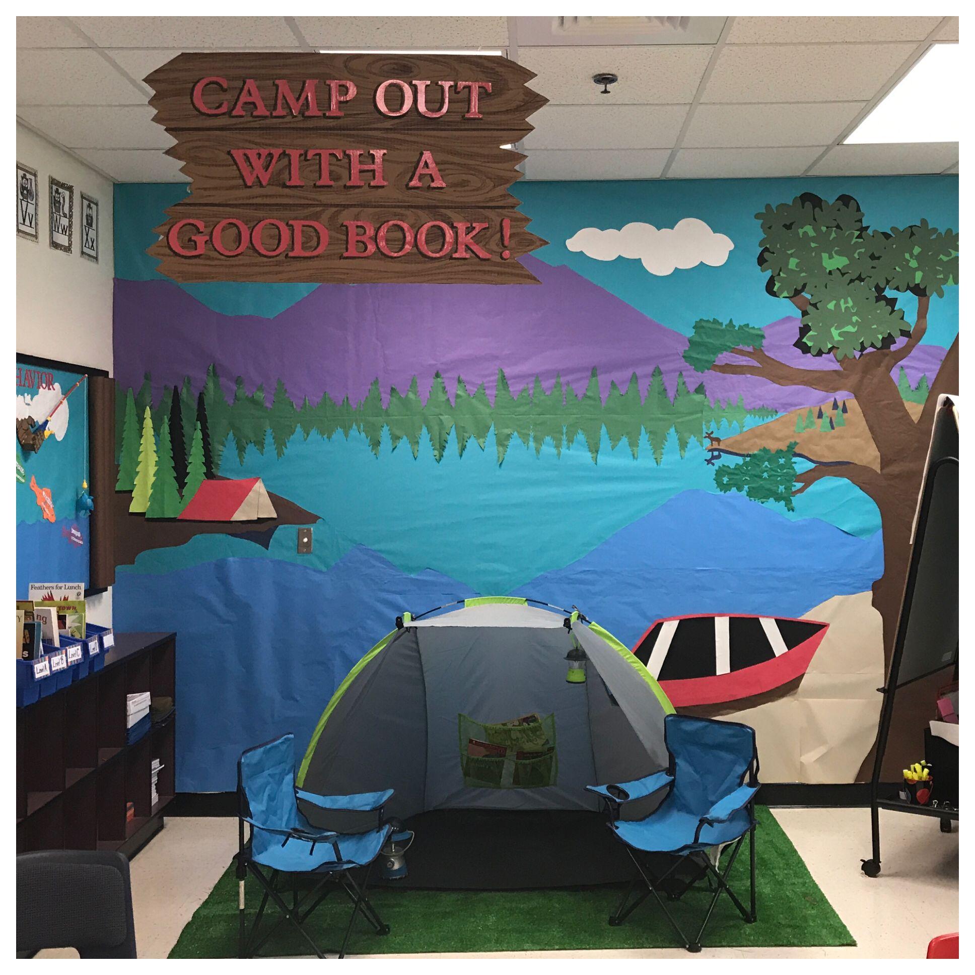 Kindergarten Classroom Camping Theme