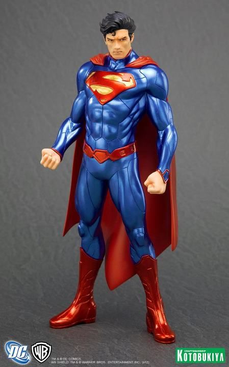 1//10 Statue Justice League DC Comic NEW SEALED Kotobukiya Superman New 52 ArtFX