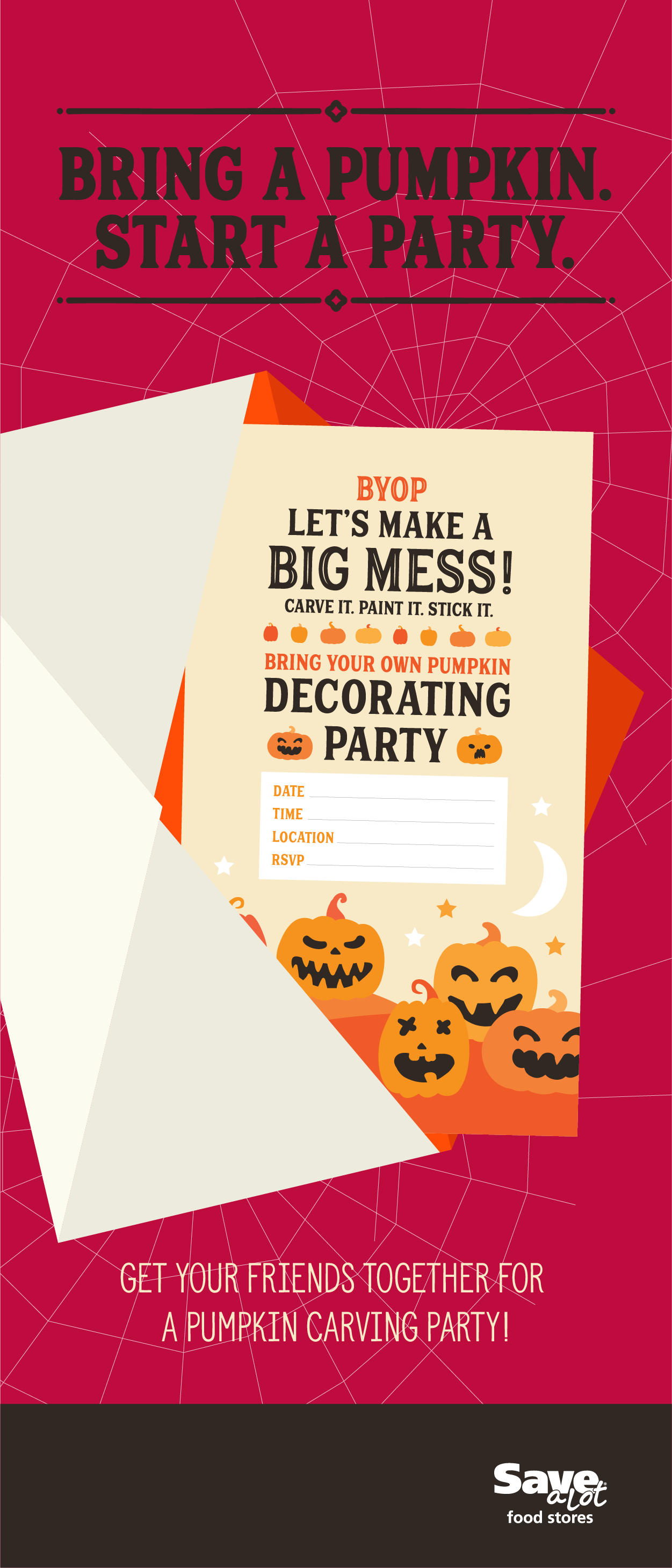 Halloween FREE Printable | Halloween Party Invite | Pumpkin Party ...