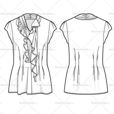 Free Fashion Flat Templates Trim Pack Courses Free Tutorials On Adobe Illustrator Tech Packs Freelancing For Fashion Designers Fashion Design Jobs Fashion Fashion Drawing