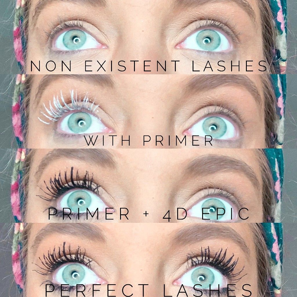 The magic of LashPrimer und 4D Mascara in 2020 Younique