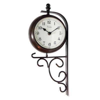 Infinity Instruments 14.75-Inch Bracket Clock - BedBathandBeyond.com