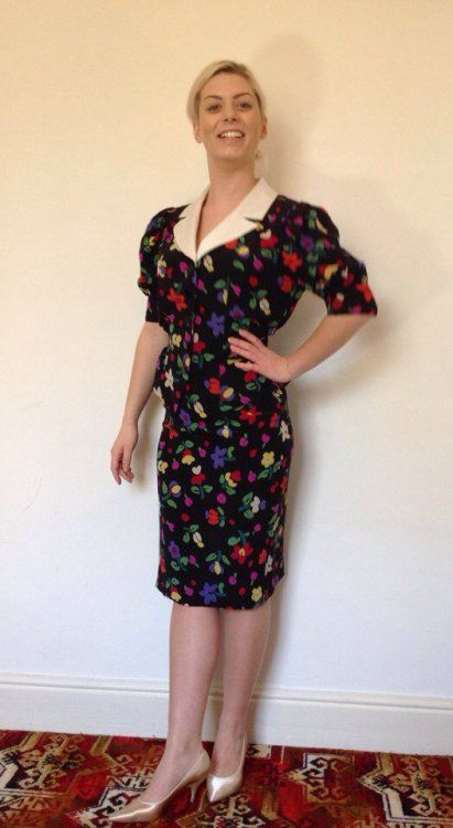 floral dress i can wear to work 6