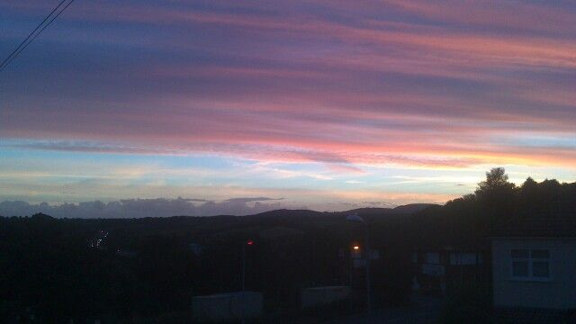My beautiful view in Wales :)