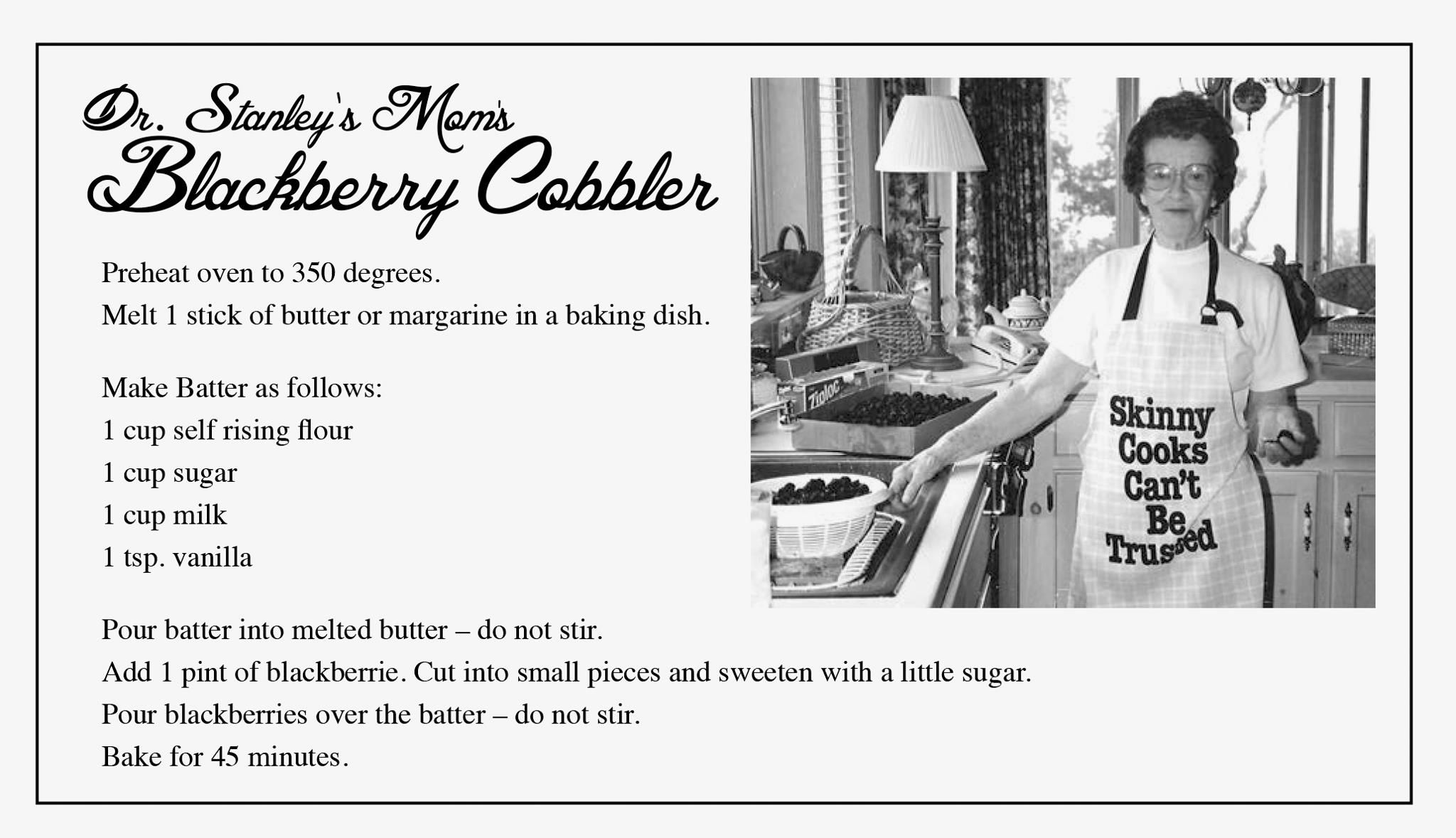 Easy cobbler recipe double for a 9x13 pan substitute any