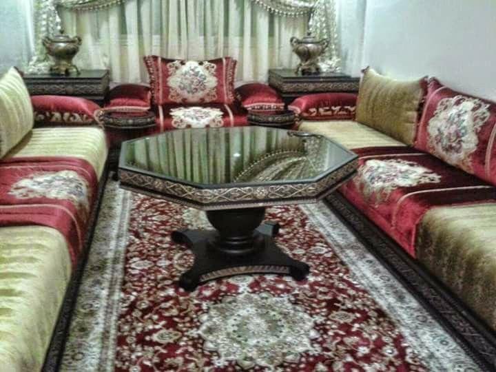 Epingle Par Nessma Sur 2 Salon Marocain Decoration Salon Moroccan Salon