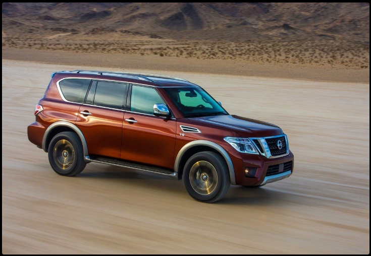 The Nissan Patrol 2018 Offers Outstanding Style And Technology Both Inside And Out See Interior Exterior Photos Nissan P Nissan Patrol Nissan Armada Nissan