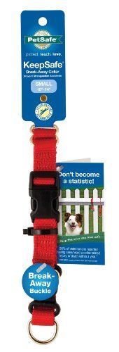 PetSafe KeepSafe 1Inch Medium BreakAway Dog Collar Red