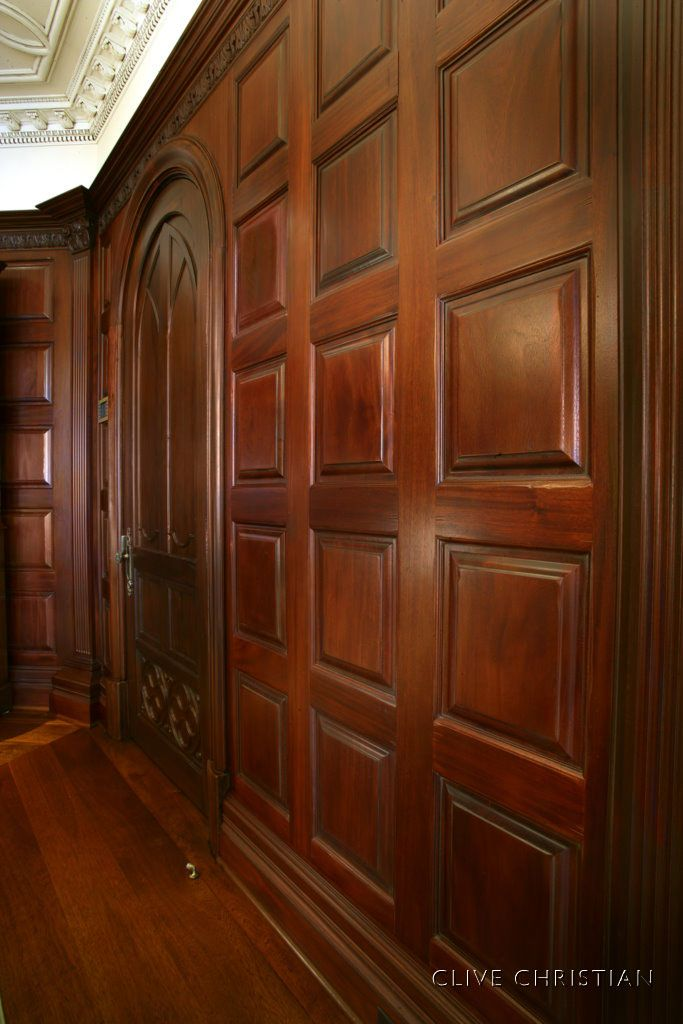 Antique Wood Paneling For Walls: High-End Paneling For A Library In Chattanooga