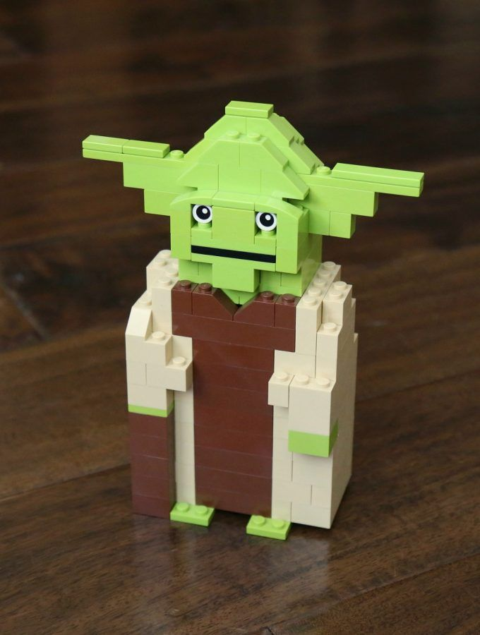 Lego Star Wars Yoda Building Instructions Zach Pinterest Lego