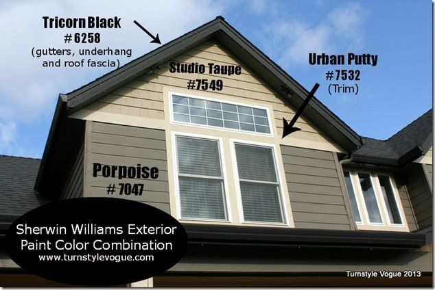 sherwin williams exterior paint color combination www