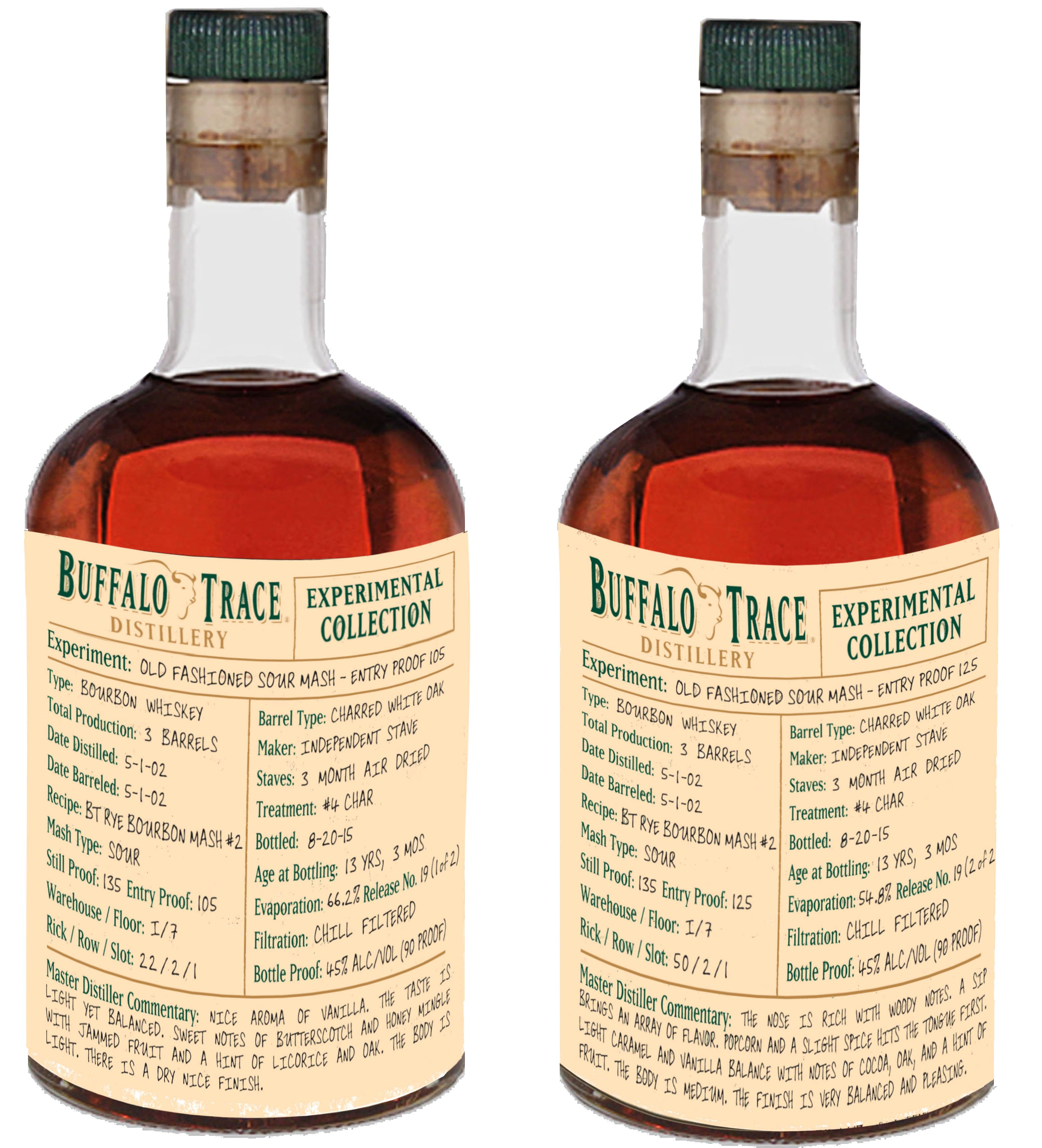Buffalo Trace Closing Out 2015 Experimental Release With Two