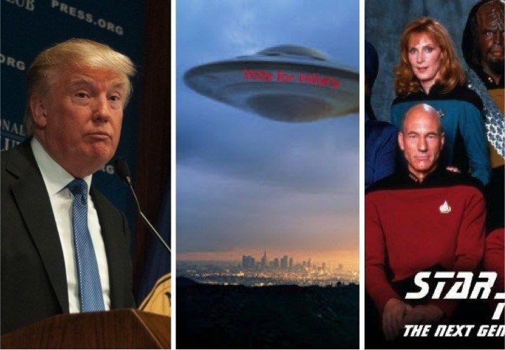 """A Guerra Total de Donald Trump, UFOs e o hoax """"Operação Firesign"""""""