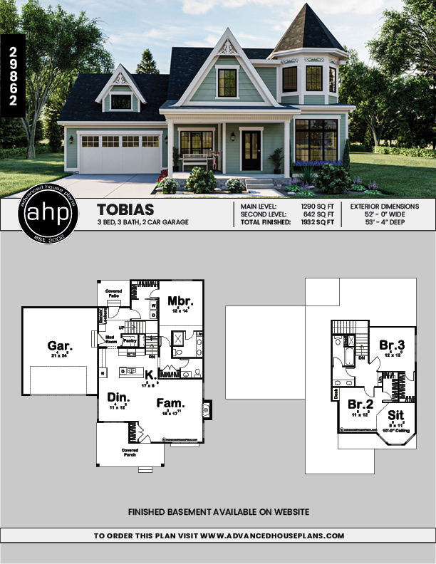 1 5 Story Victorian Style House Plan Tobias Victorian House Plans Modern Victorian Homes Advanced House Plans