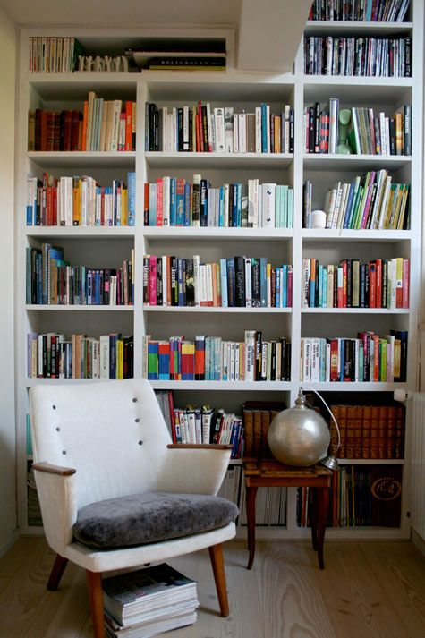 reading nook Libraries Pinterest Bibliotecas, Libreros y