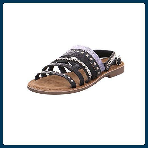 Lazamani 75.412 Größe 41 Schwarz (Black) - Sandalen für frauen (*Partner-