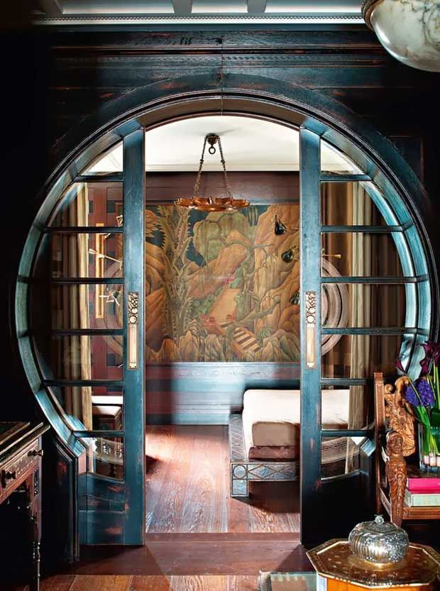 East meets west asian inspired interiors