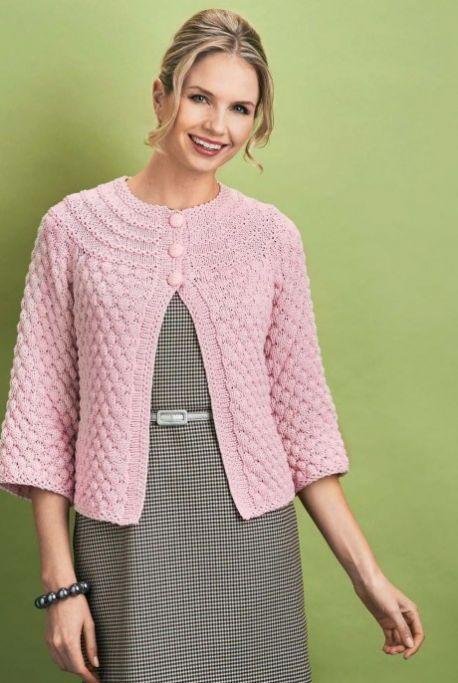 Vintage Inspired Cardigan Free Knitting Patterns Garments Free