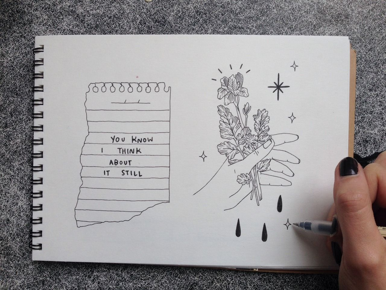 Your voice makes flowers grow cuadernos for Minimal art journal