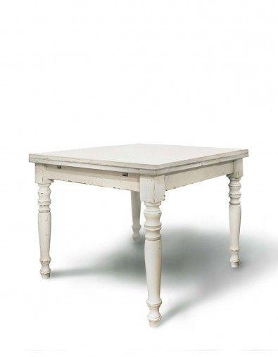 Tavolo Quadrato Allungabile Bianco.Pin Su Classic
