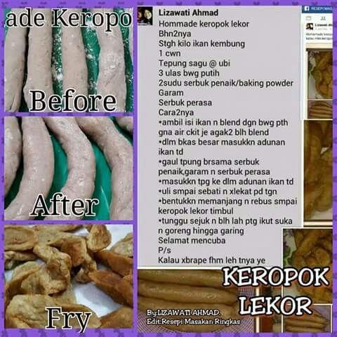 Keropok Lekor Armenian Recipes Homemade Spices Malaysian Food