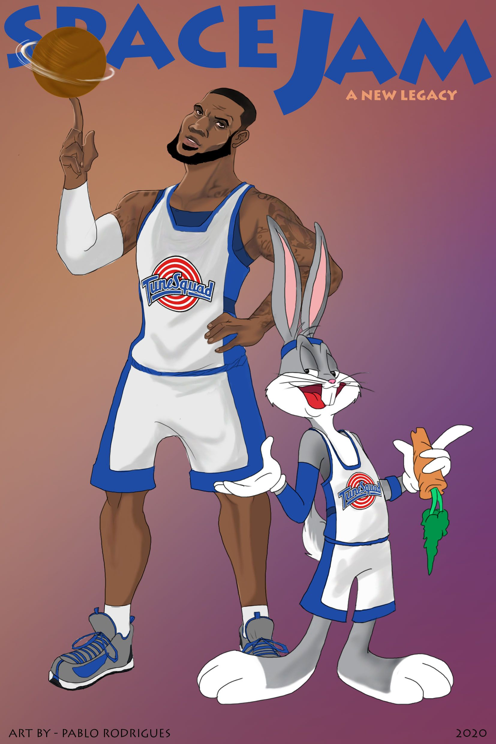 Space Jam 2 A New Legacy In 2021 Space Jam Cool Cartoons Caricature From Photo