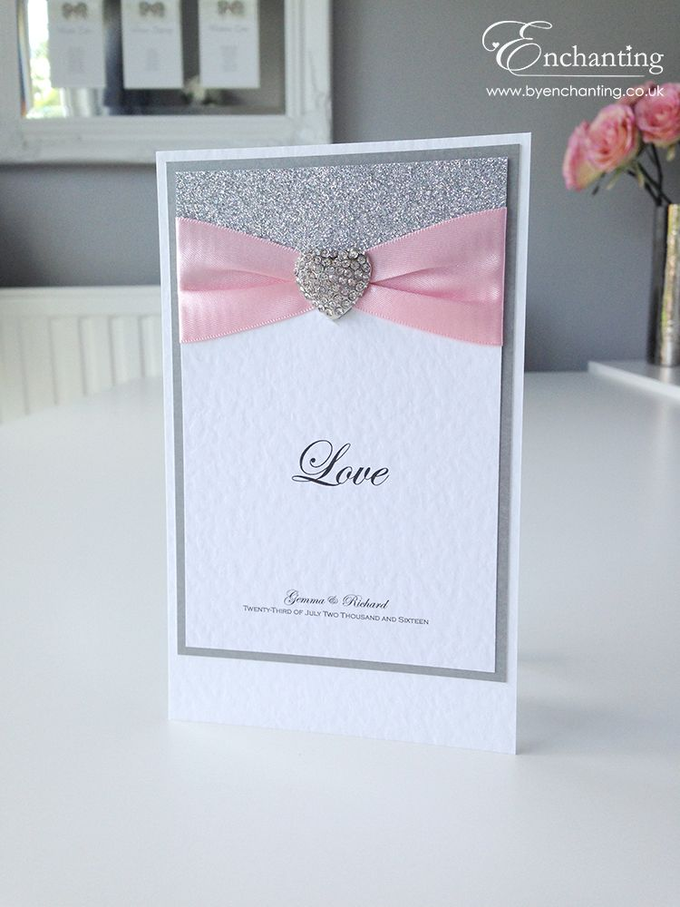 Pink Wedding Stationery | The Cinderella Collection - Table Name ...