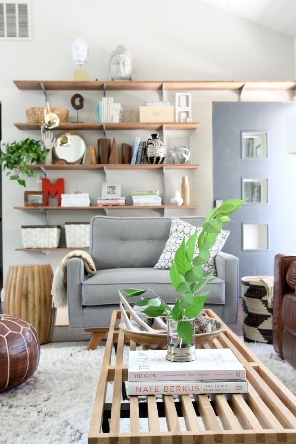 Living Room By House Tweaking With Some Great Colors And Accessories.