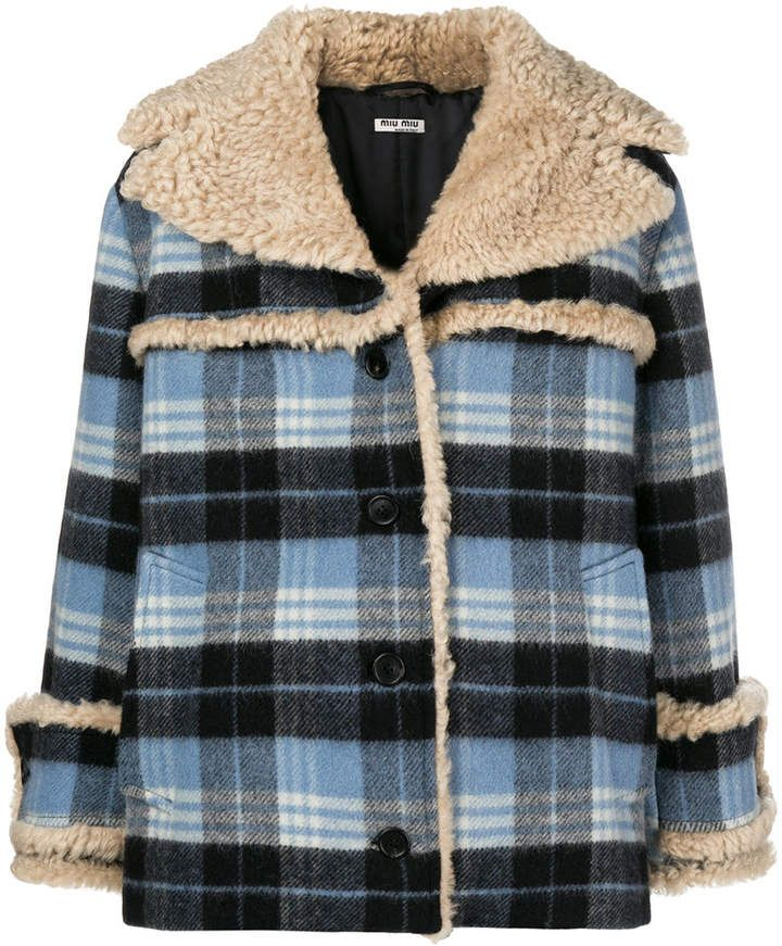 7b5ff5b345cd Pin by Andrea GW on Jackets and Blazers | Jackets, Miu miu, Coat