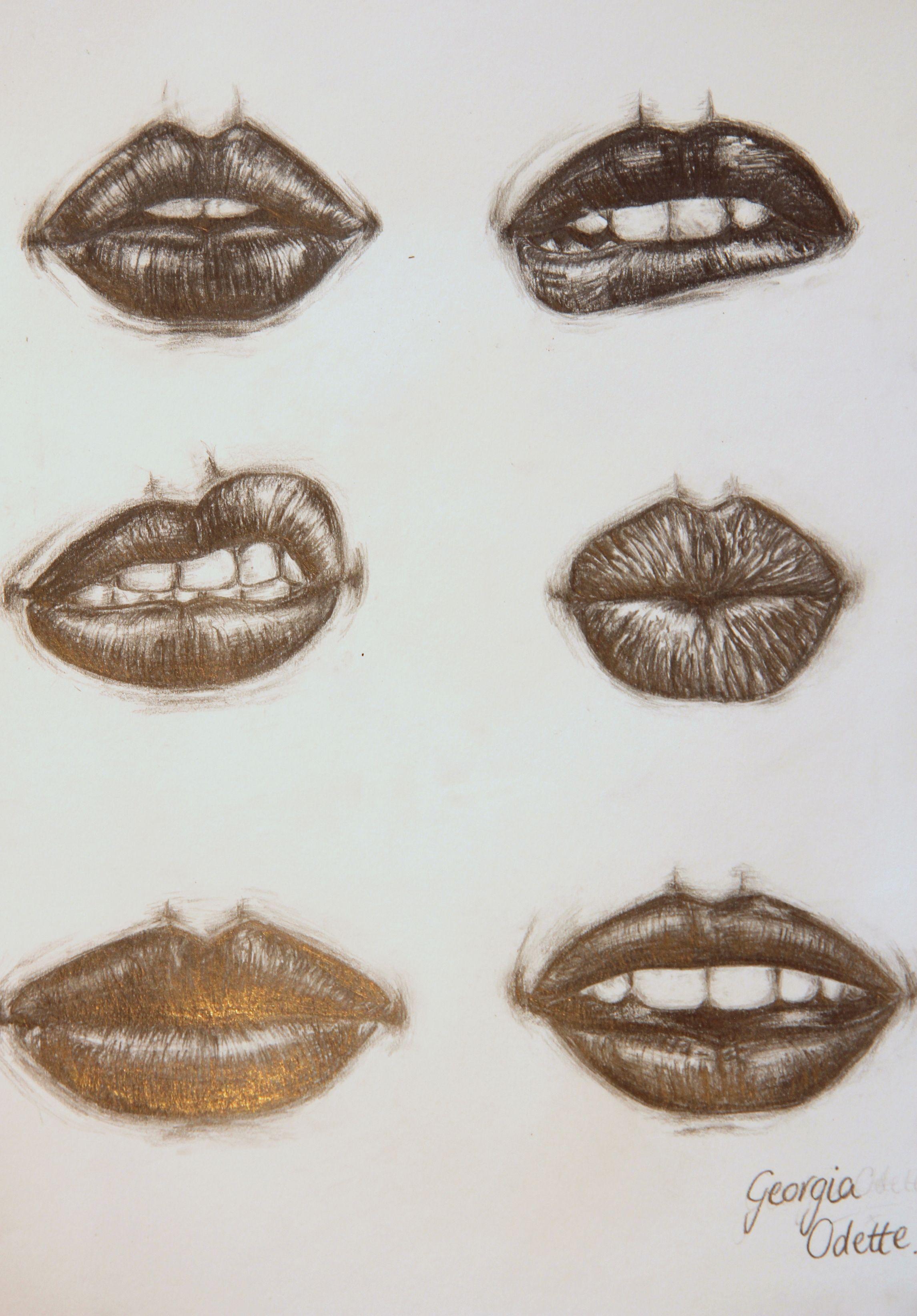 How To Draw Lips Stan Prokopenko&39s Blog
